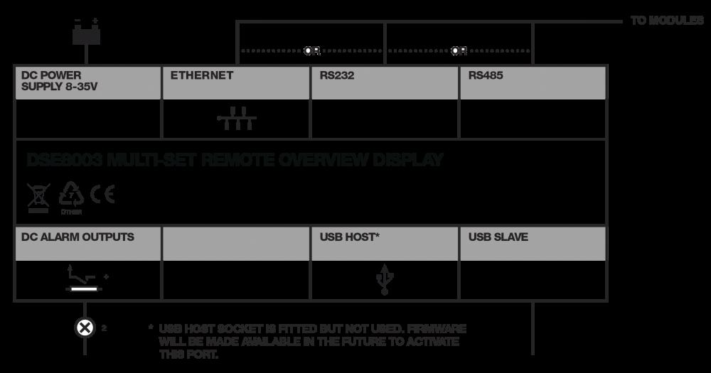 DSE8003 connection diagram