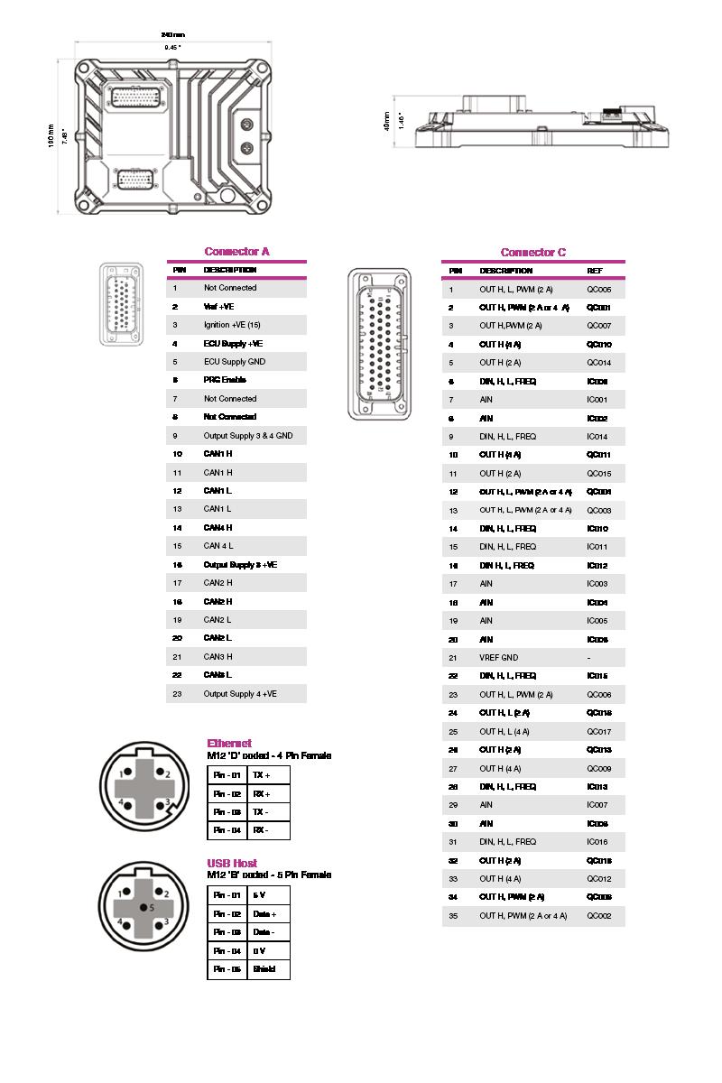 M643 connection diagram