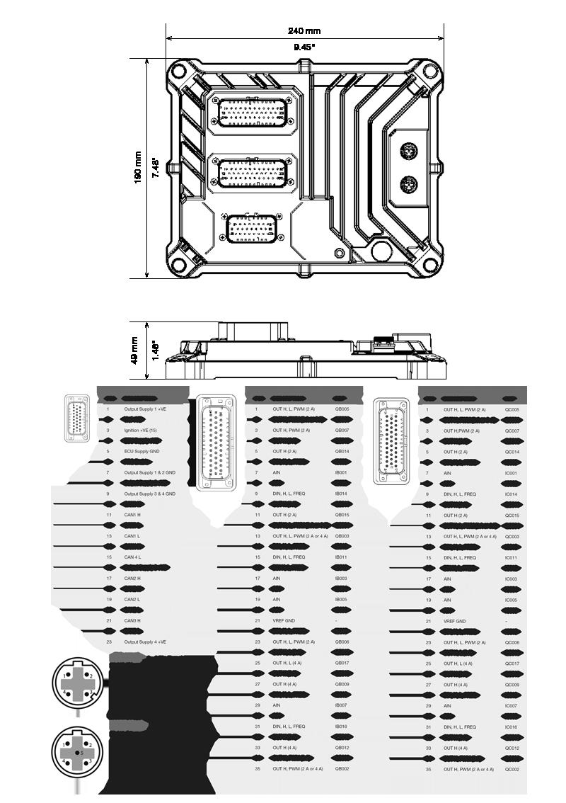 M640 connection diagram