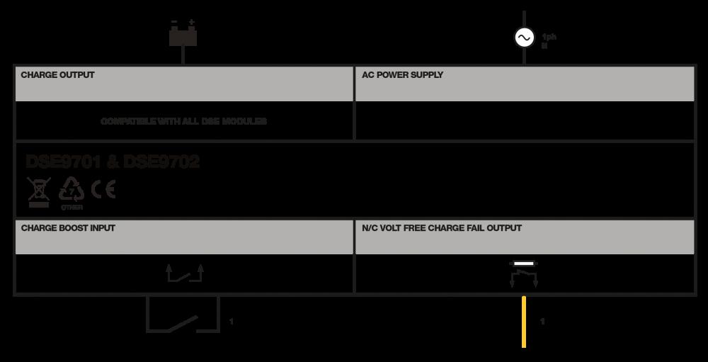 DSE9702 connection diagram